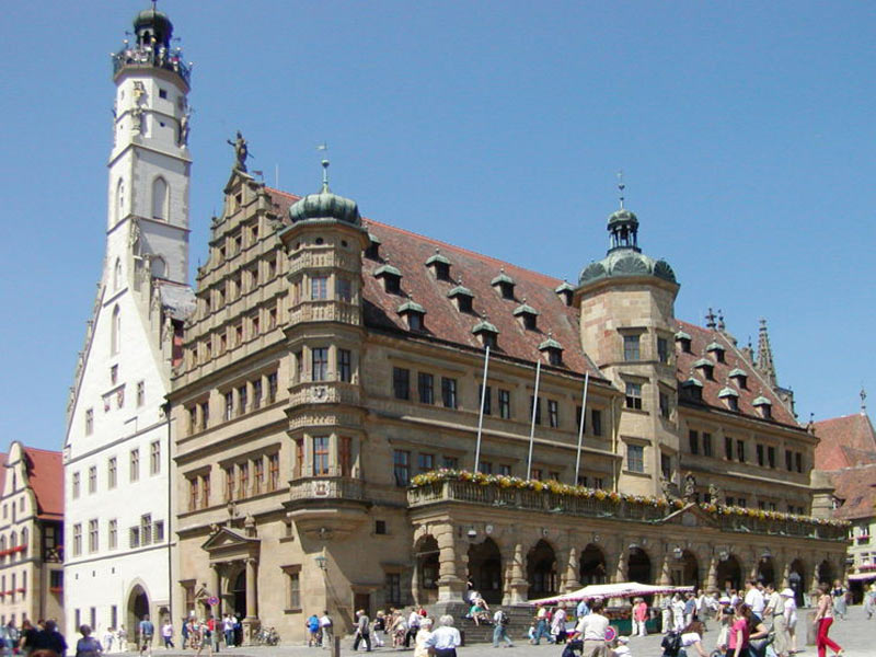 Rothenburg on der Tauber - Town hall