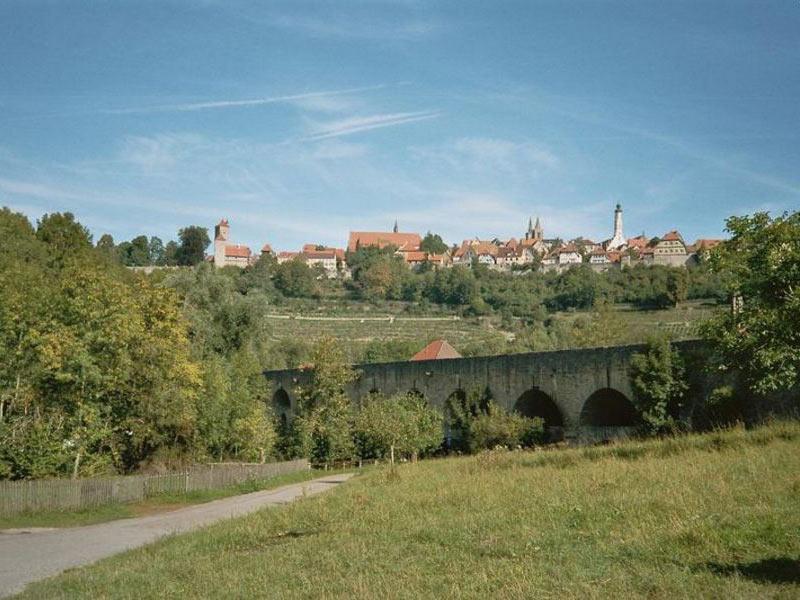 Taubertal unterhalb von Rothenburg on der Tauber