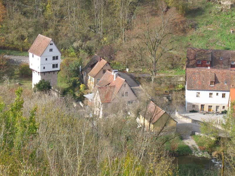 Topplerschlösschen nebst Fuchsmühle