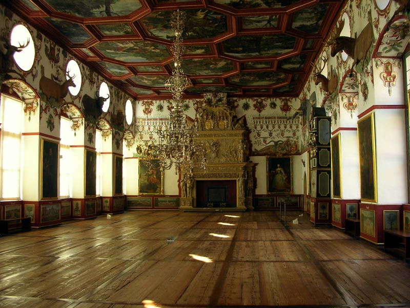 Weikersheim Castle - Knight's hall