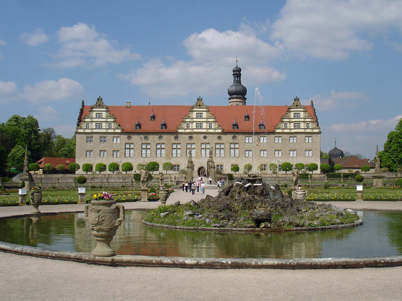 Weikersheim Castle - Moated castle