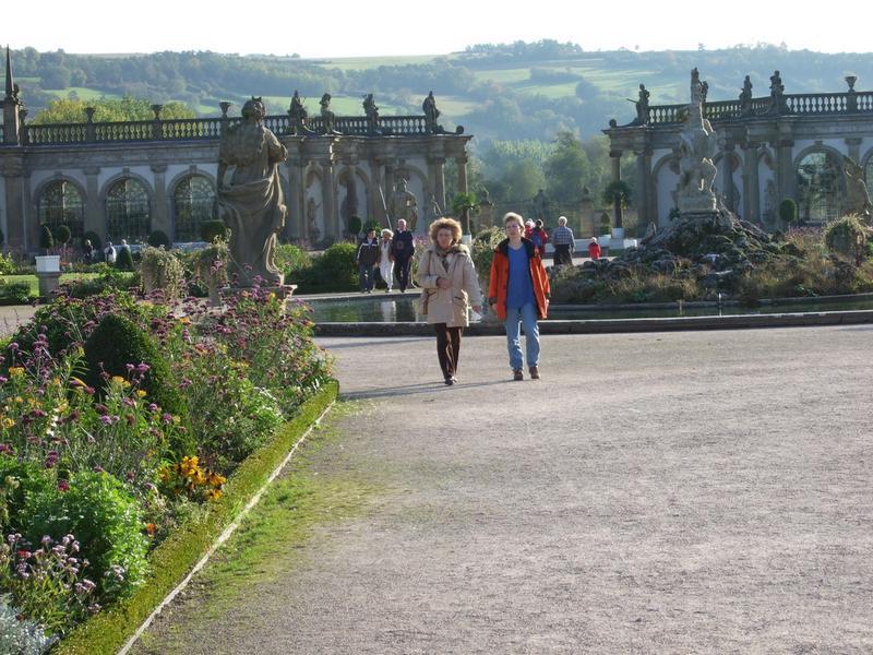 Schloss Weikersheim - Parkanlage