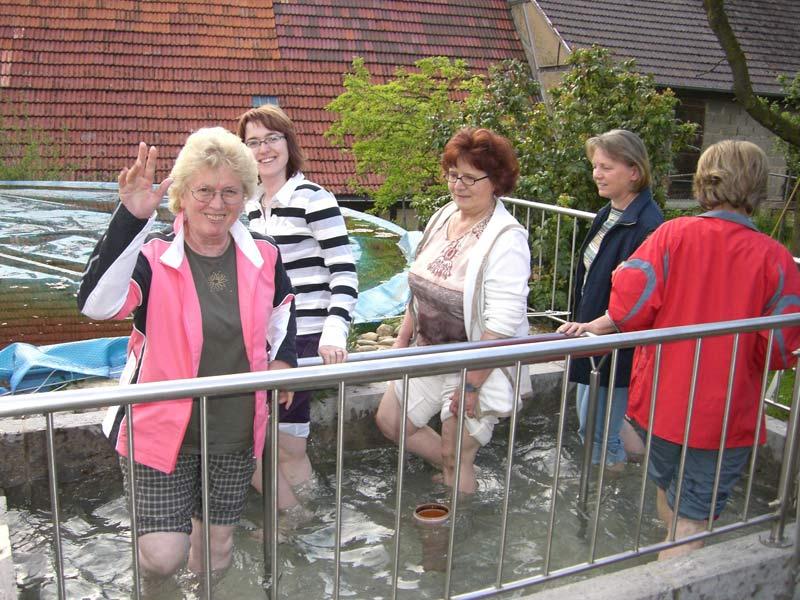Kneipp Wassertretanlage - Ferienhof Henn