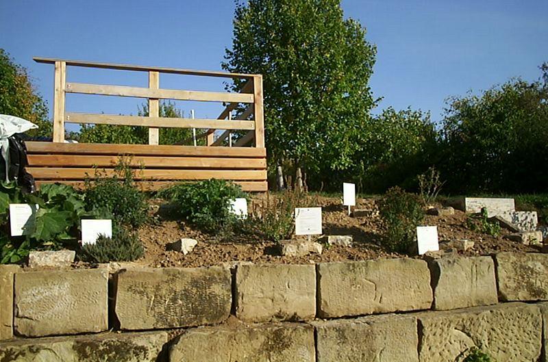 Henn's Homestead - Herb garden